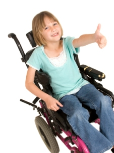M2L2_Pediatric Overview_girl in wheelchair